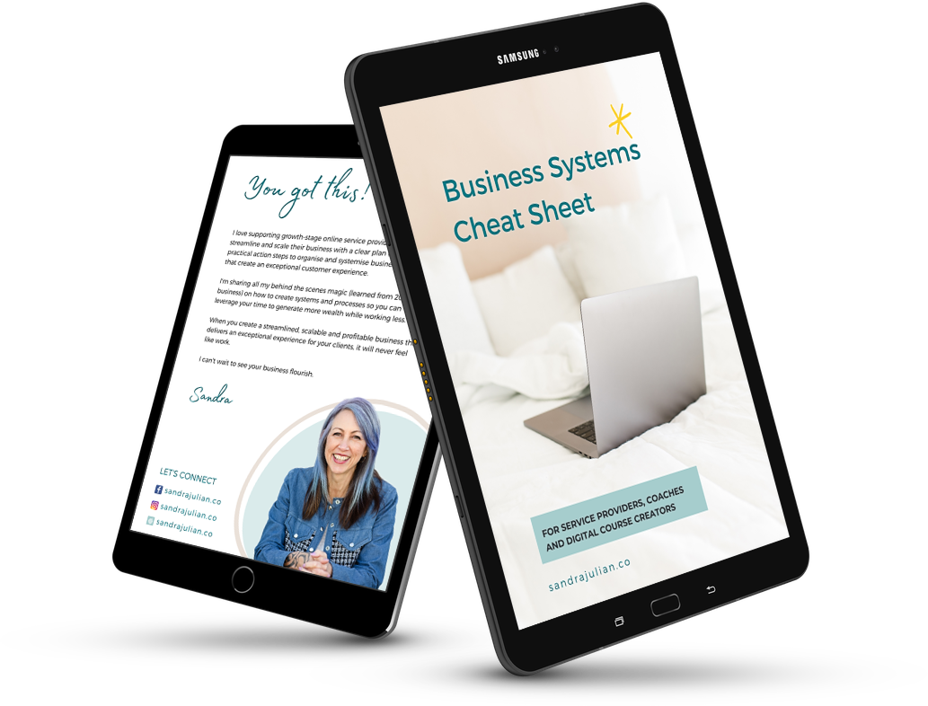Business Systems Cheat Sheet